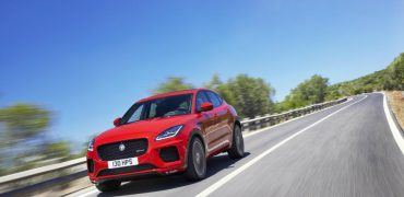 JAG EPACE 18MY FirstEdition OnroadDynamic 130717 01 370x180 - 2018 Jaguar E-PACE: Fashion Statement or Full-Bodied Capability?