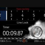 Line lock Digital Graphic in Cluster Display