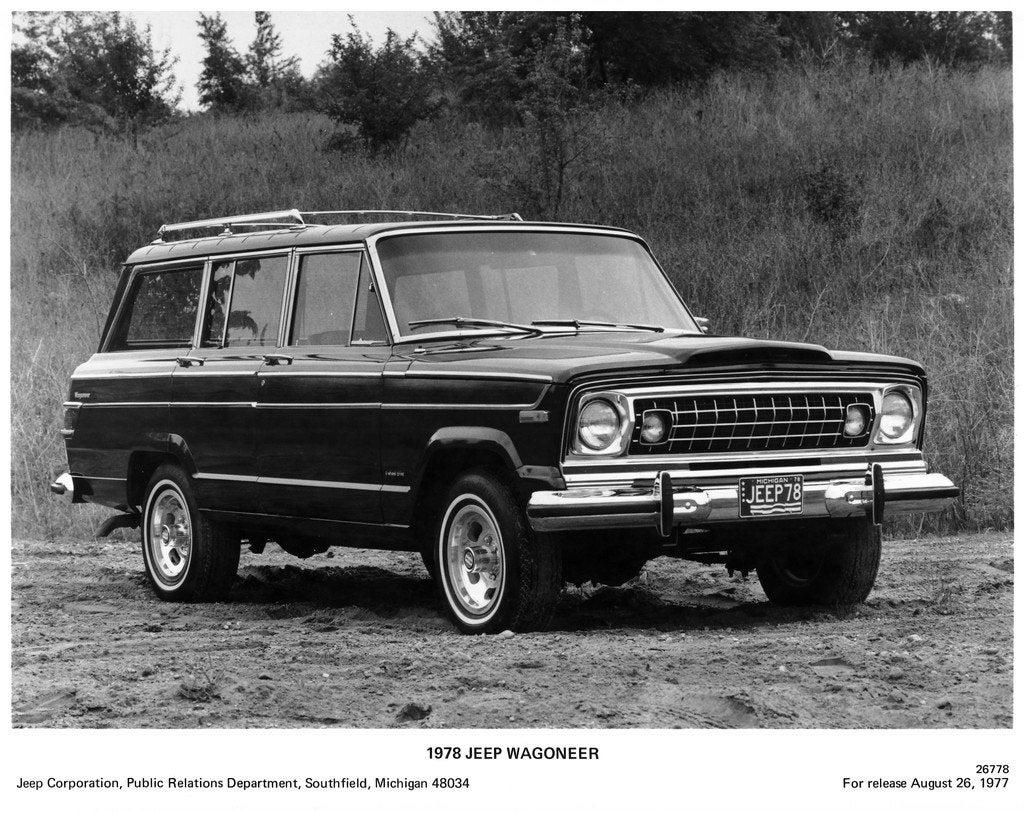 1978 Jeep Wagoneer frnt rt