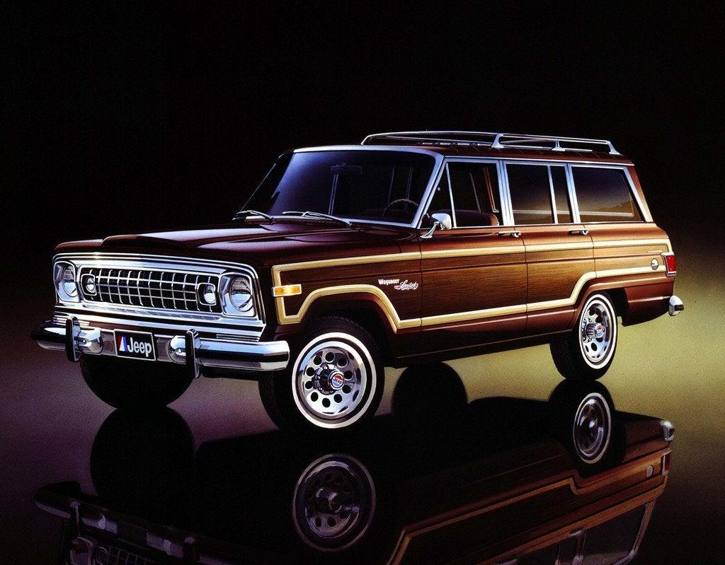 1978 Jp Wagoneer Limited 3q frnt color