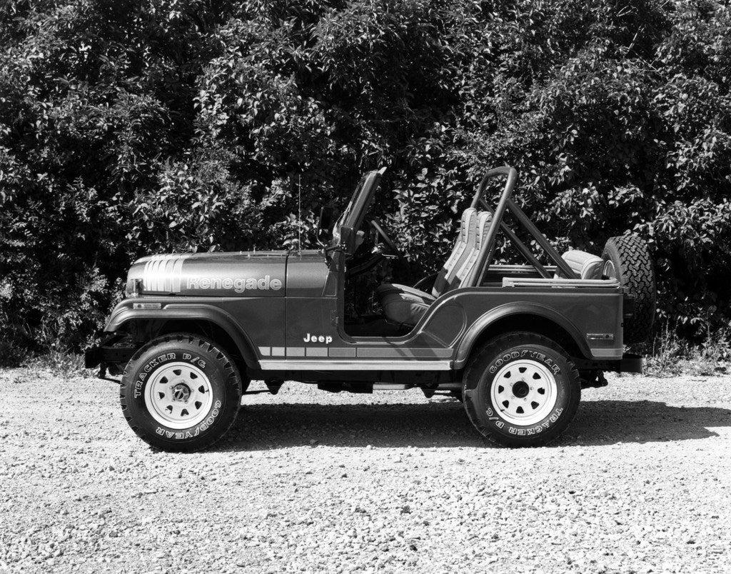 1980 Jeep CJ5 Renegade lft