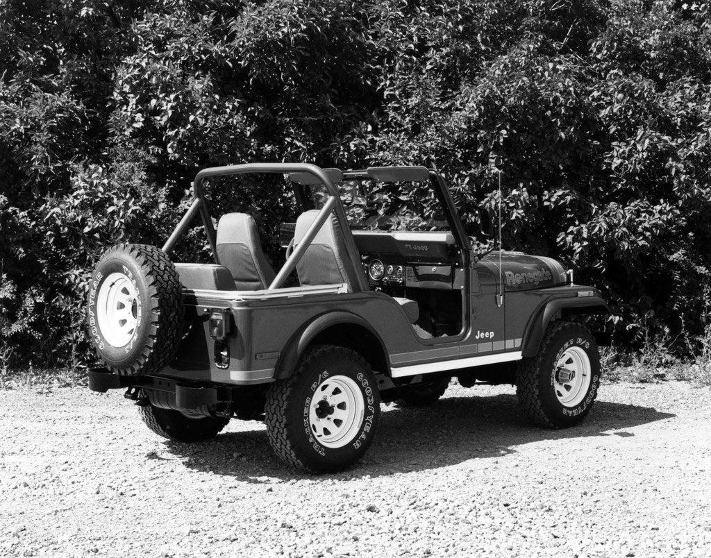 1980 Jeep CJ5 Renegade rt