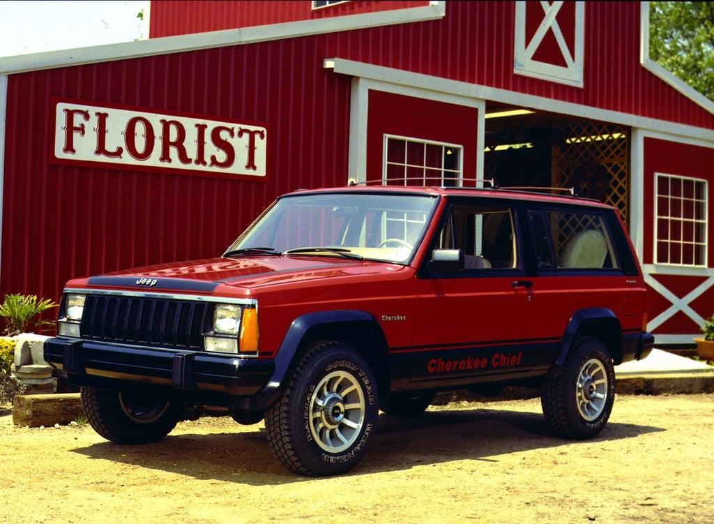 1984 Jp Cherokee Chief lft frnt color