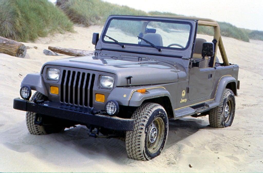 1988 Jp Wrangler Sahara frnt lft color