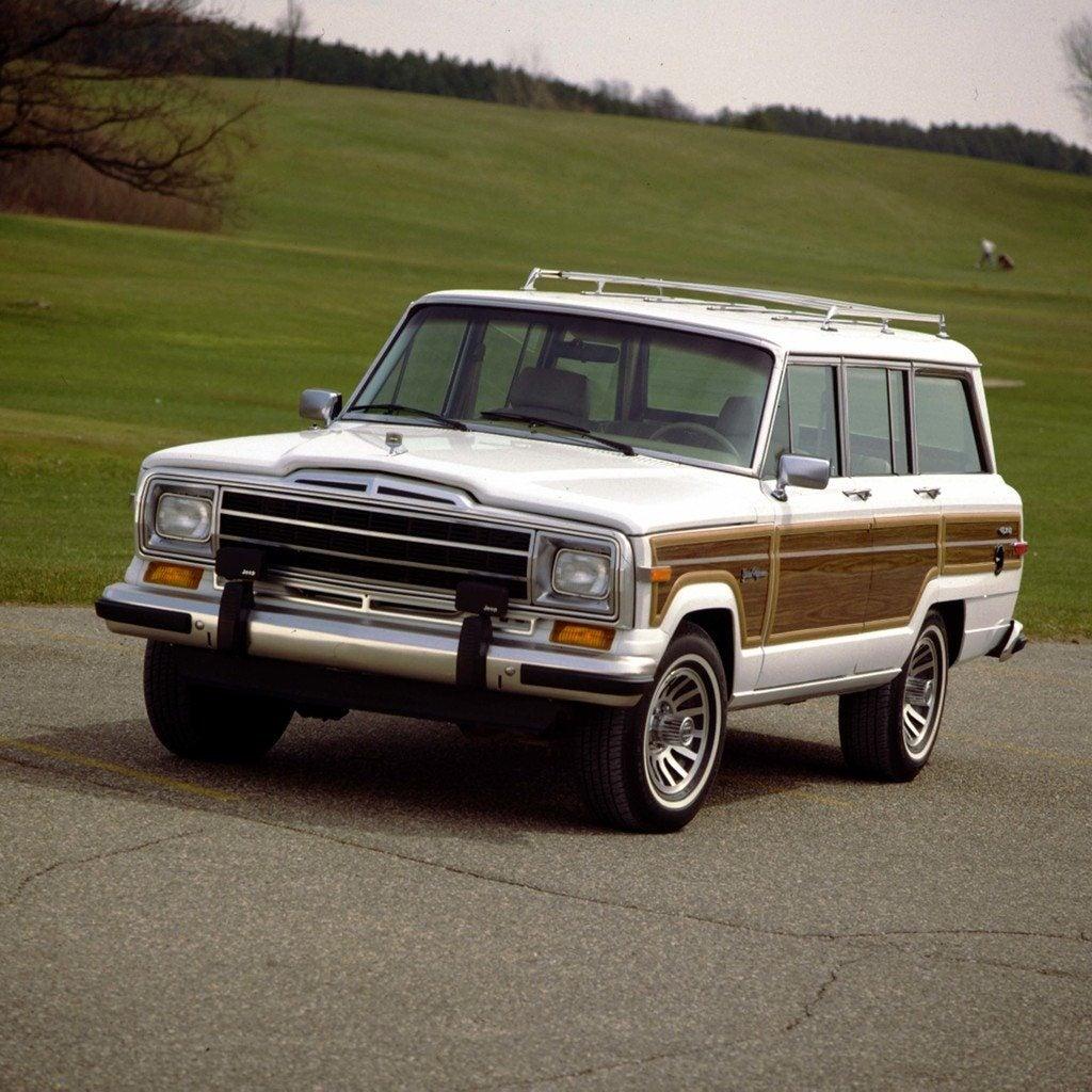 1991 Jp Grand Wagoneer frnt lft colorn1ga4hlo50rc1c70vbcp8gq54j
