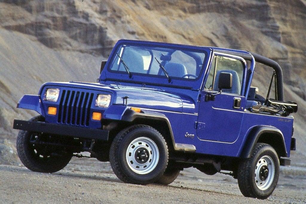 1994 Jp Wrangler lft frnt color