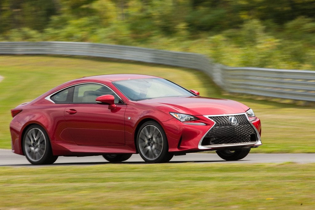2017 Lexus RC 350 AWD Coupe Review