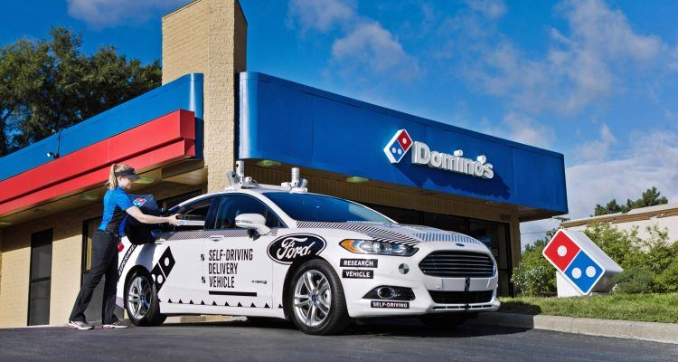 Ford Dominos AVResearch 02 750x400 - Autonomous Pizza Delivery? The Future Is Here!