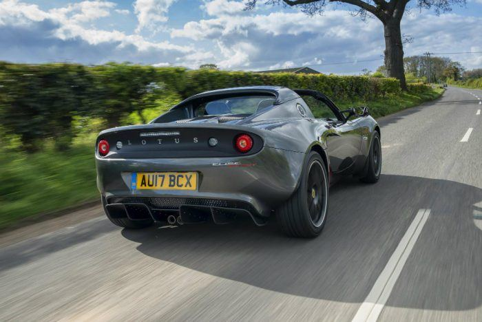 Lotus Elise Sprint Metallic Grey 3