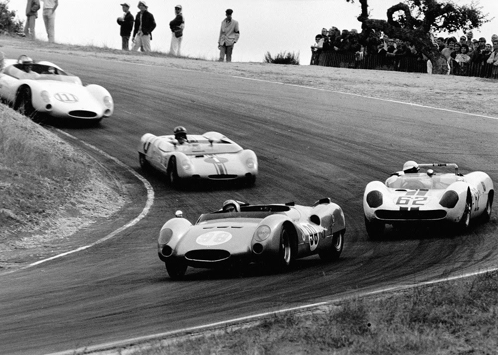 Rolex Monterey Motorsports Reunion Showcases Decades of Racing History
