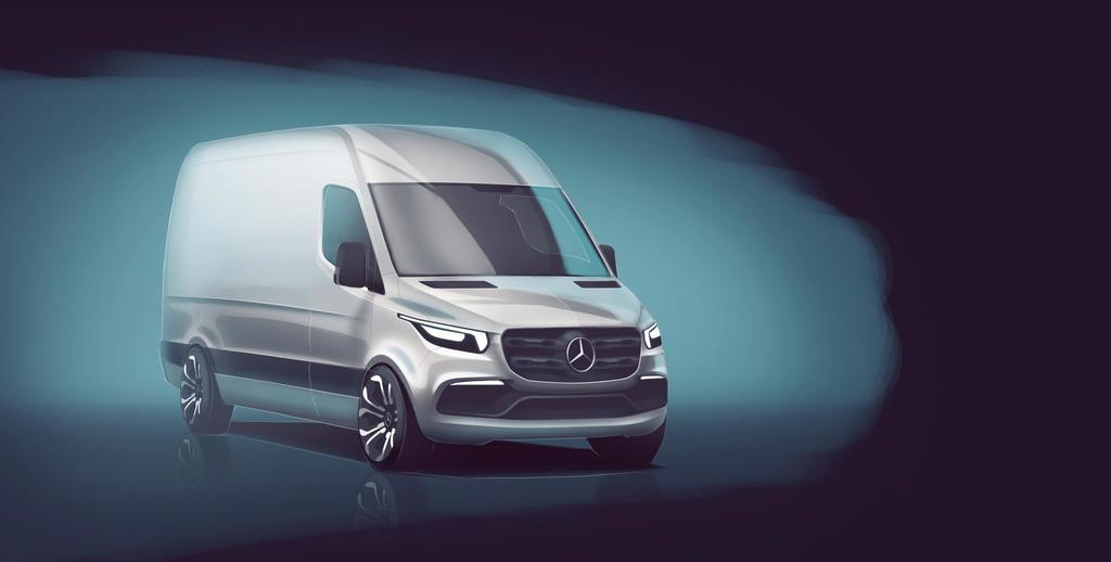 Mercedes-Benz Shows Glimpse of Future Sprinter