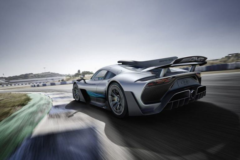 The Project ONE Show Car: Mercedes-AMG Drops The Big One 20