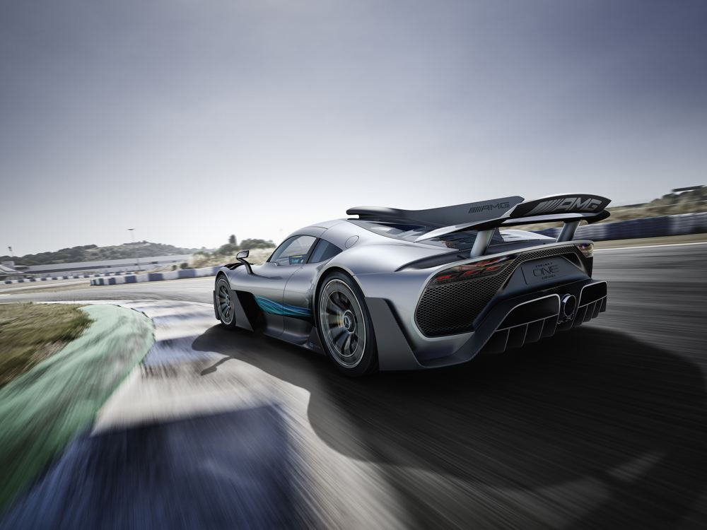 The Project ONE Show Car: Mercedes-AMG Drops The Big One