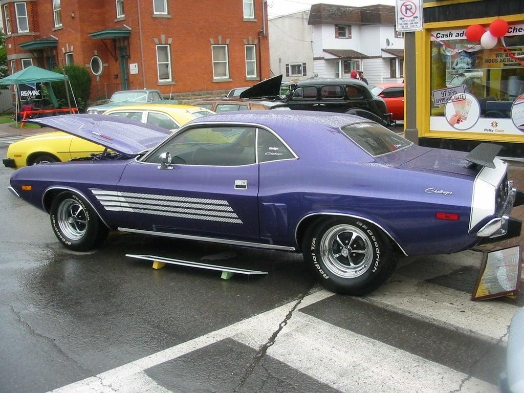 1974 Dodge Challenger yellow Pinto