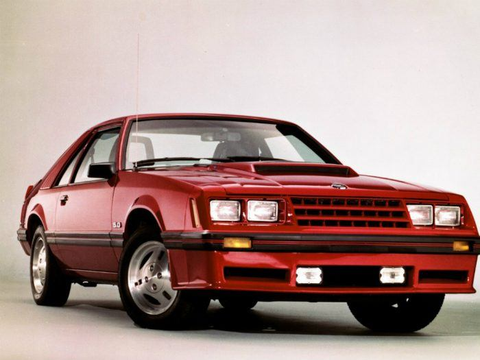 1982 Ford Mustang GT red CN34002 96