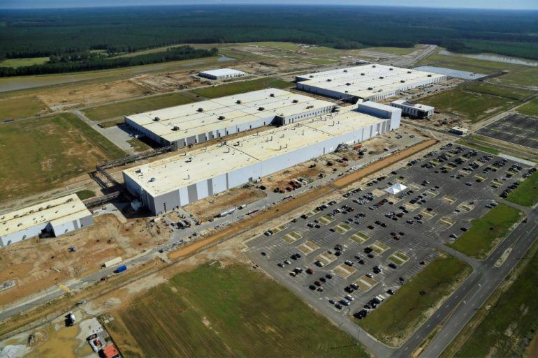 214081 South Carolina Plant Expansion