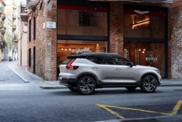 213094 New Volvo XC40 exterior