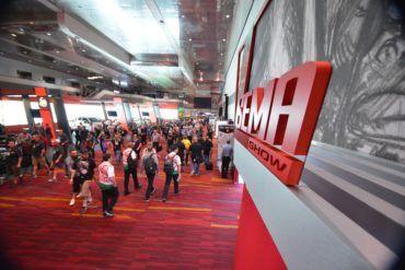 sema show 2016 show floor 27