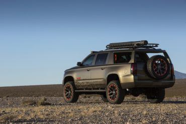 Chevy Gets Red Dirt Rich With Luke Bryan Suburban Concept In Vegas 18