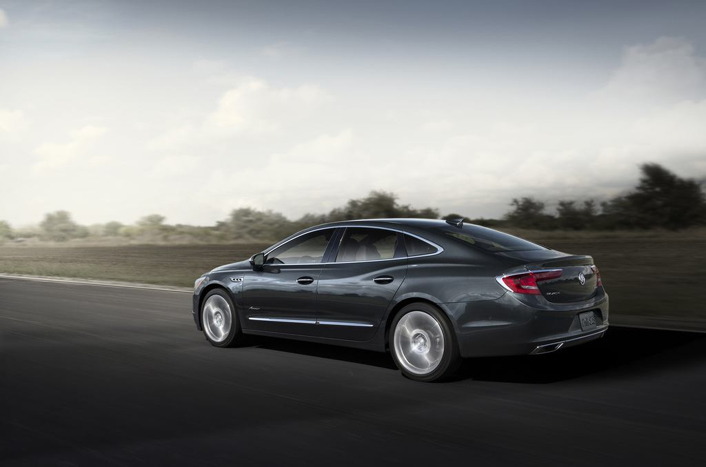 2018 Buick LaCrosse Avenir Debuts, Signals New Direction