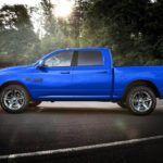 2018 Ram 1500 Hydro Blue Sport profile view