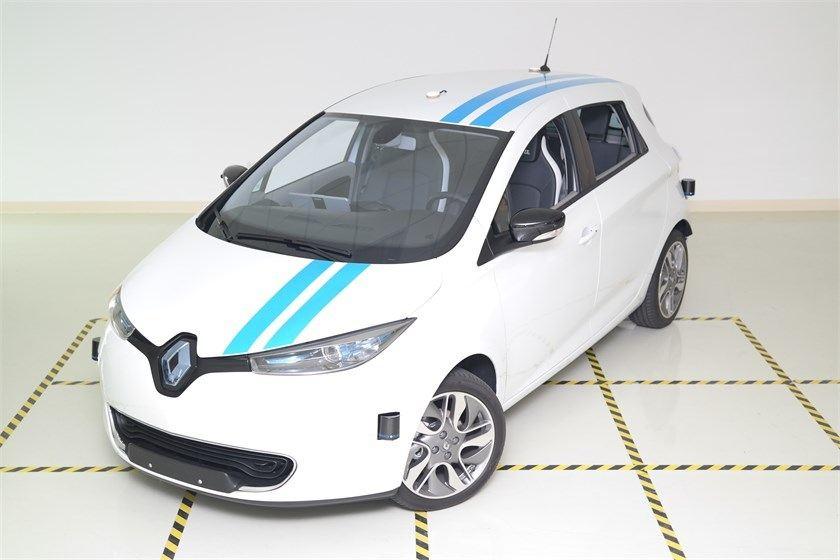 Groupe Renault Demonstrates Autonomous Technology