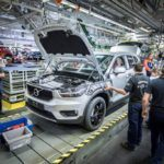 216918 Pre production of the new Volvo XC40 in the manufacturing plant in Ghent