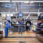 216920 Pre production of the new Volvo XC40 in the manufacturing plant in Ghent
