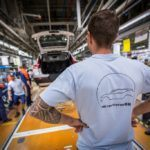 216921 Pre production of the new Volvo XC40 in the manufacturing plant in Ghent