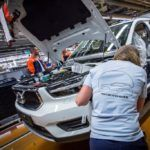 216922 Pre production of the new Volvo XC40 in the manufacturing plant in Ghent