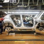 216924 Pre production of the new Volvo XC40 in the manufacturing plant in Ghent