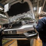216925 Pre production of the new Volvo XC40 in the manufacturing plant in Ghent