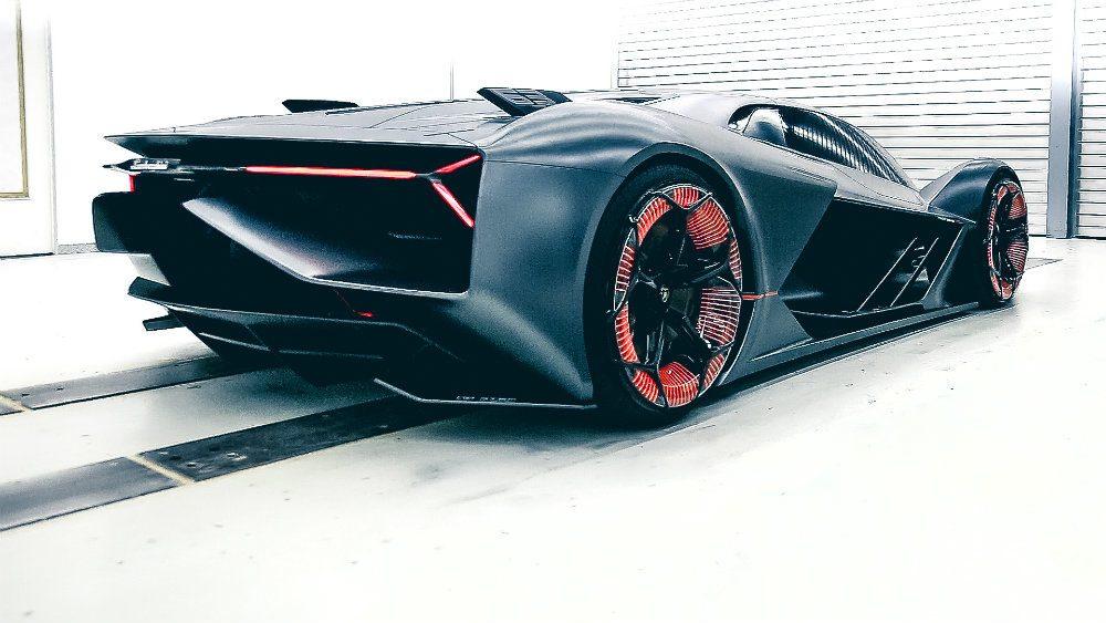 Lamborghini Terzo Millennio rear
