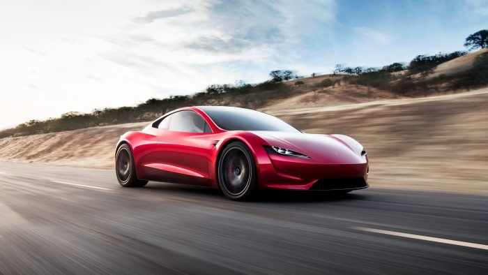 Tesla Roadster Revealed (And It's Powerful)