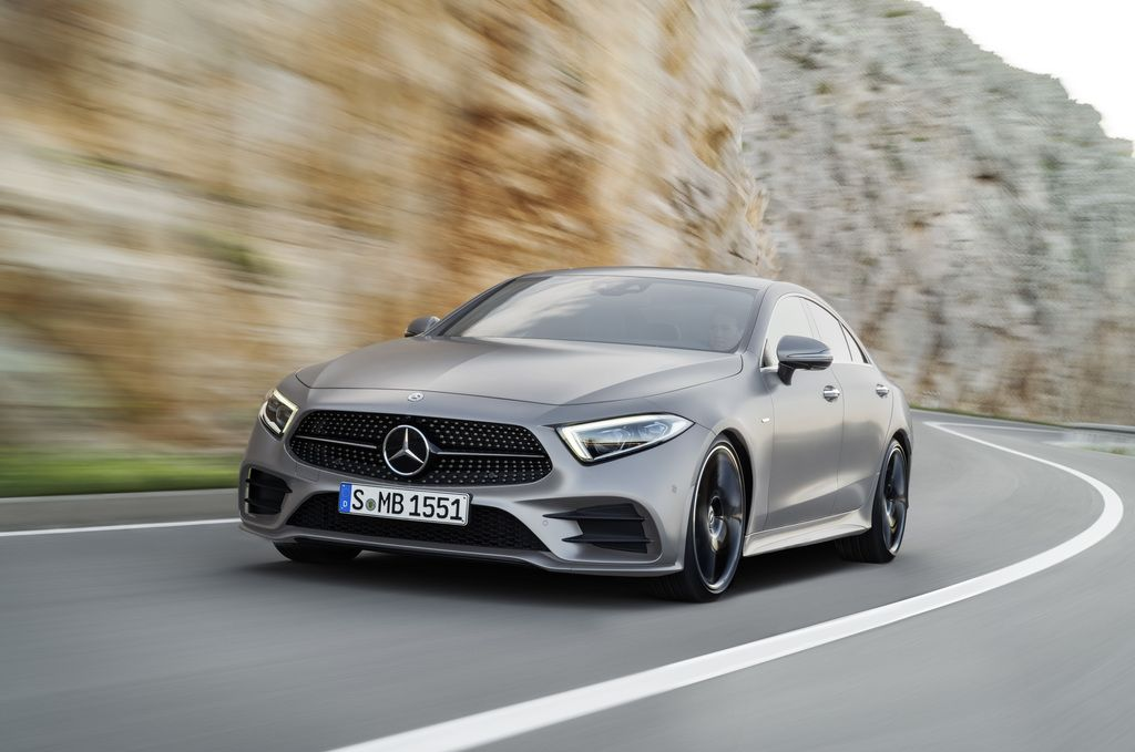 The 2019 Mercedes-Benz CLS450 Can Change Your Mood. Literally.
