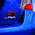 2018 Subaru WRX STI Type A badge