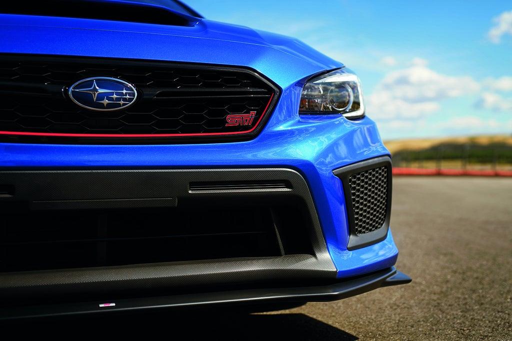 2018 Subaru WRX STI Type A lip