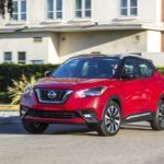 2018 Nissan KICKS Red driving2