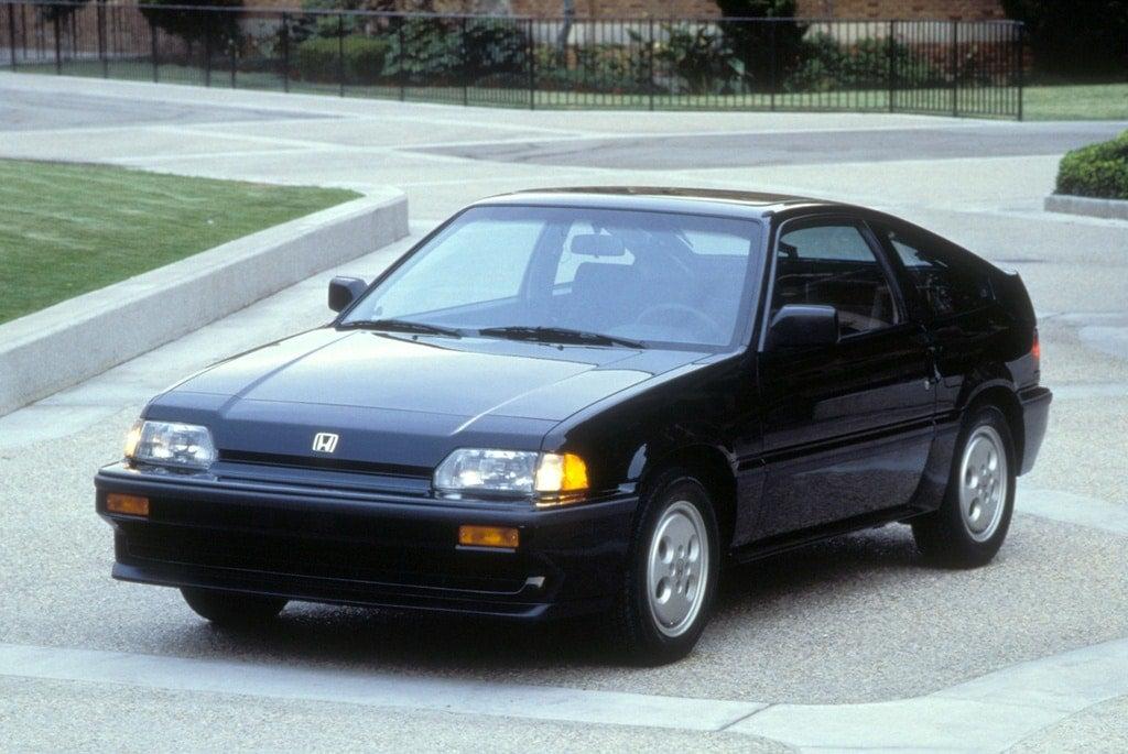 1986 Honda Civic CRX Si.
