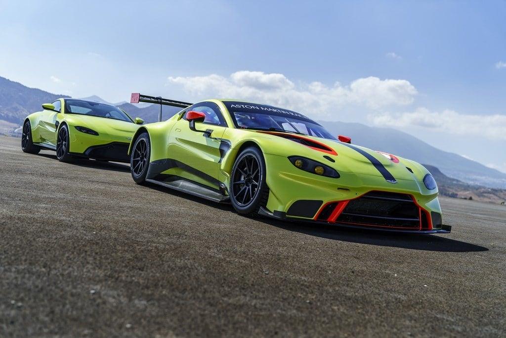 Aston Martin Racing 2018 Vantage GTE Aston Martin Vantage 01