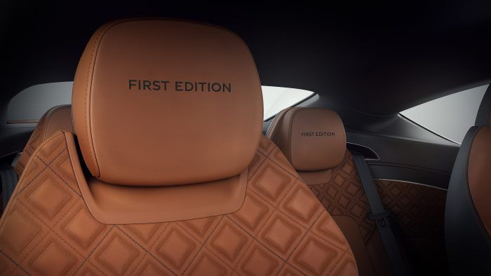 Bentley Continental GT First Edition Headrests