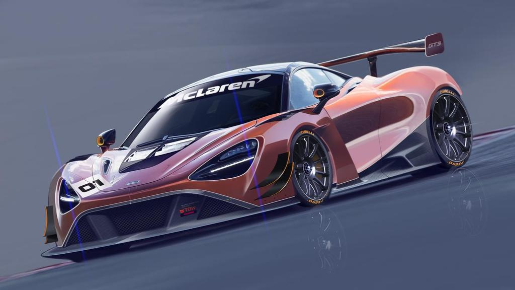 McLaren 720S GT3 Hits The Track