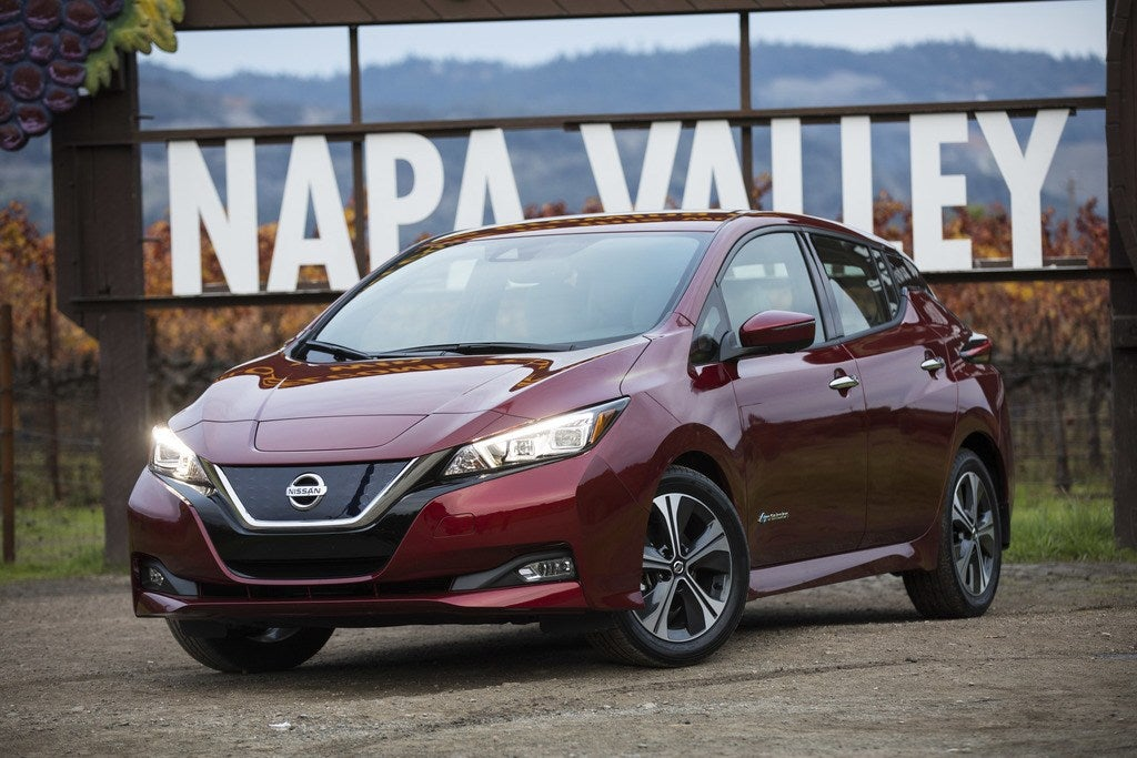 Cruising Through Napa Valley In The 2018 Nissan Leaf