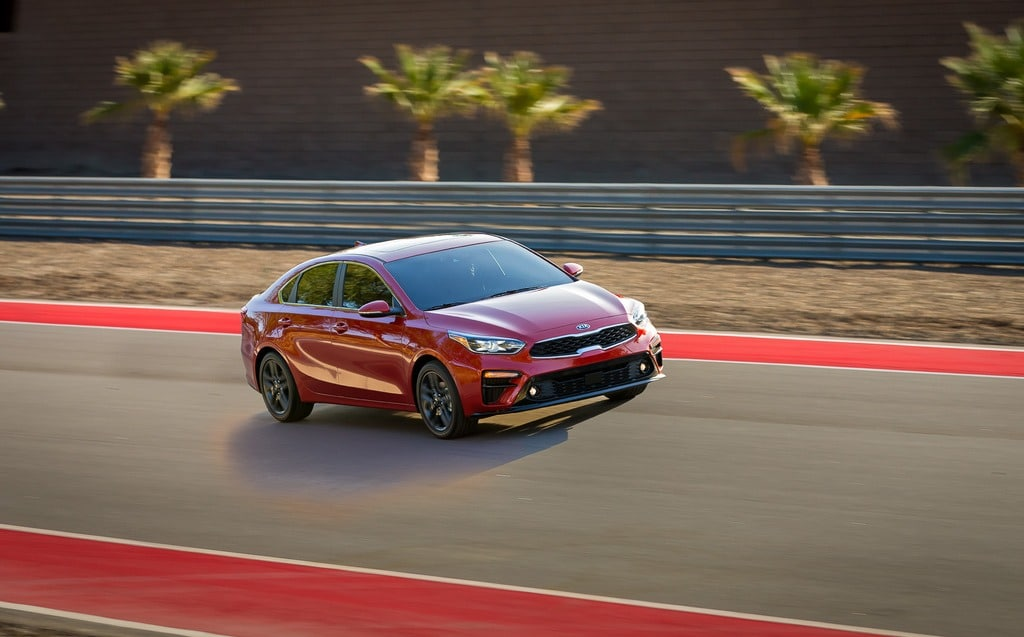 2019 Kia Forte Arrives With Hints of Stinger DNA