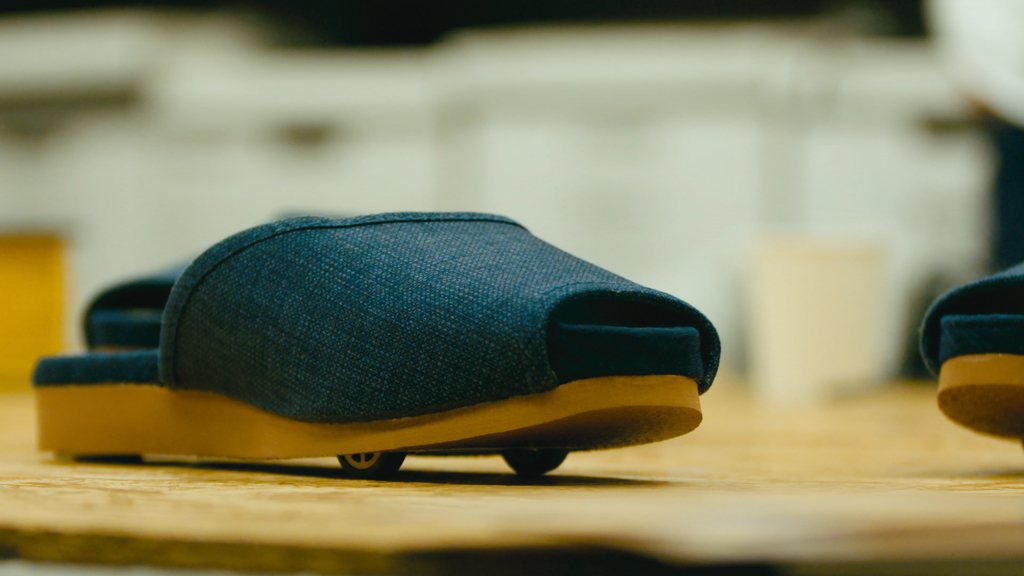 Nissan Wants You To See These Self-Parking Slippers!