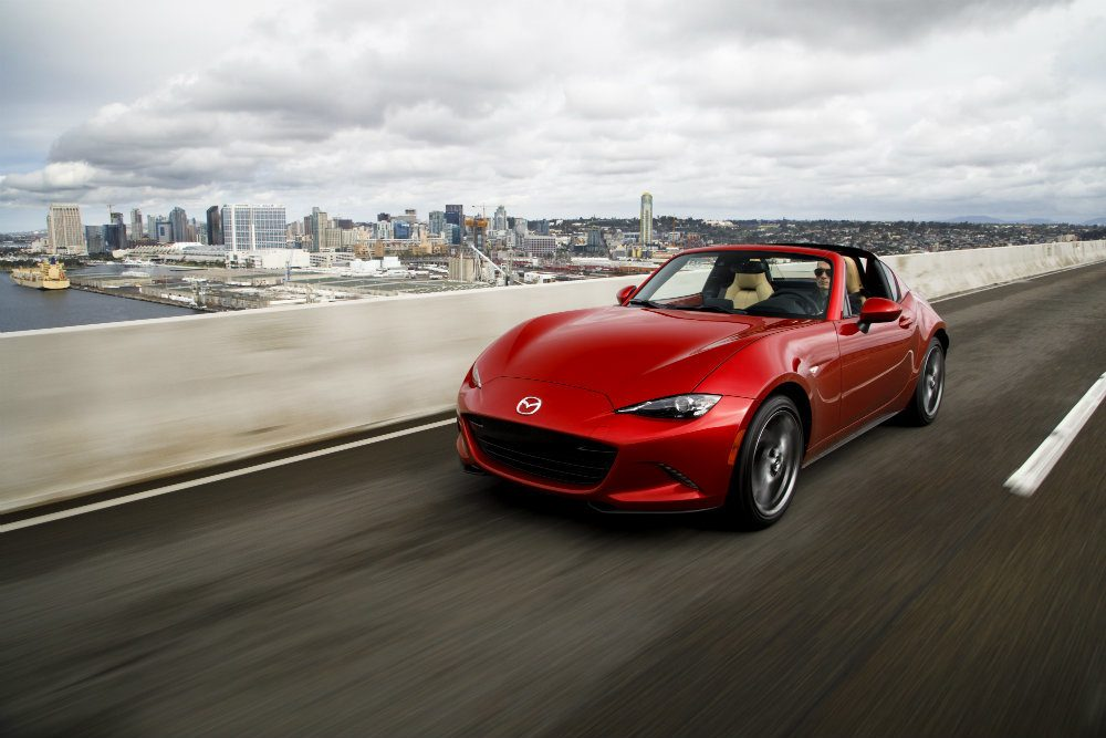 2018 Mazda MX-5 RF Goes Nationwide