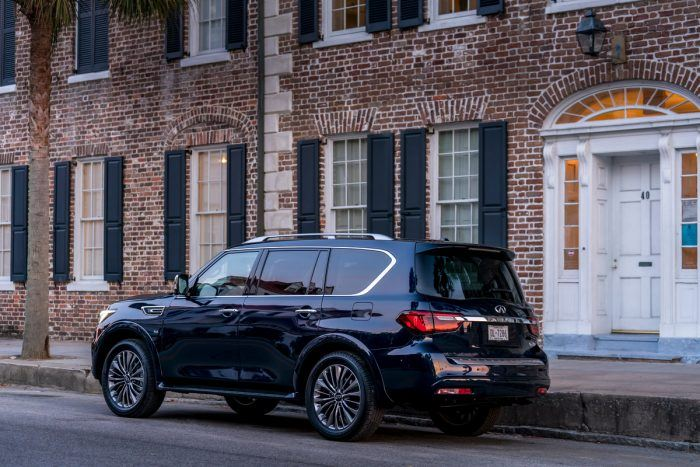 2018 INFINITI QX80   Hermosa Blue Photo 21