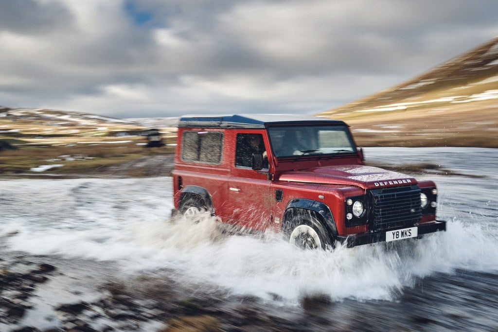Land Rover's Limited Edition V8 Defender Caps Anniversary Celebration