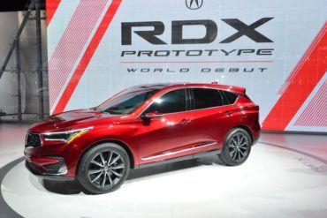 2019 RDX Prototype Represents Acura's Most Extensive Redesign 19