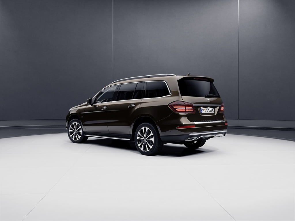 Mercedes-Benz GLS Grand Editions Headed To Detroit